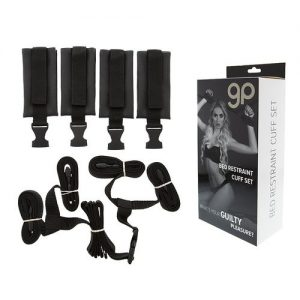 KIT 8 PIEZAS GP BED RESTRAINT CUFF SET