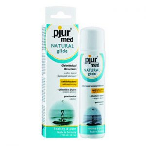 LUBRICANTE BASE AGUA PJUR MED NATURAL GLIDE 100 ML