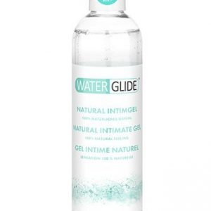 LUBRICANTE BASE AGUA WATERGLIDE NATURAL INTIMATE GEL 300 ML