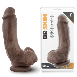 DILDO REALISTICO DR. SKIN MR MAYOR 9INCH